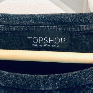 Topshop Tops - Topshop Fringe Crop Tee